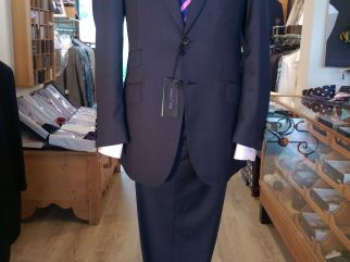 Classic 2 piece Suit in 140's micron Wool. Available to order or made to measure in other design variations , and fabrics