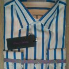 Mod. 543 White & Blue Strip